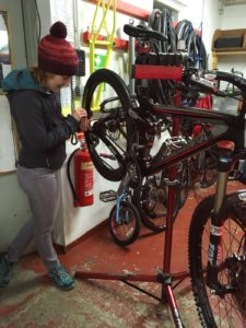 Bike maintenance classes in Moray with Outfit Moray Bike Revolution