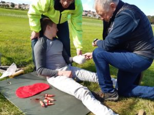 First aid training courses in Moray